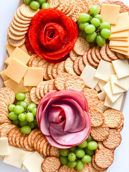 How to Make Salami Roses for your Charcuterie Board