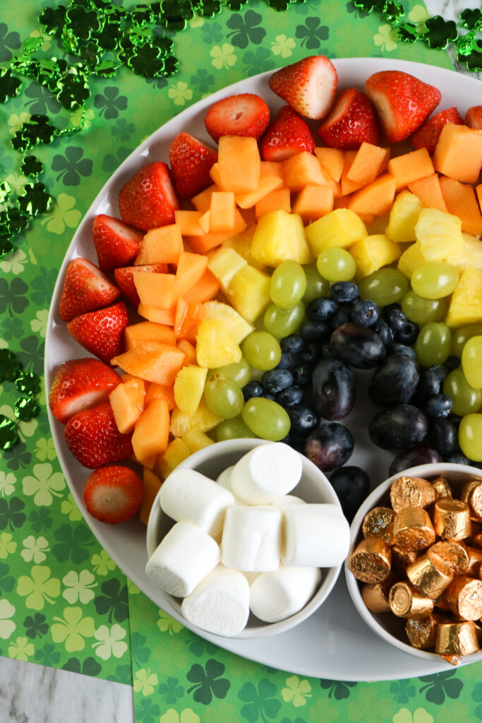 St Patrick Day Fruit Platter