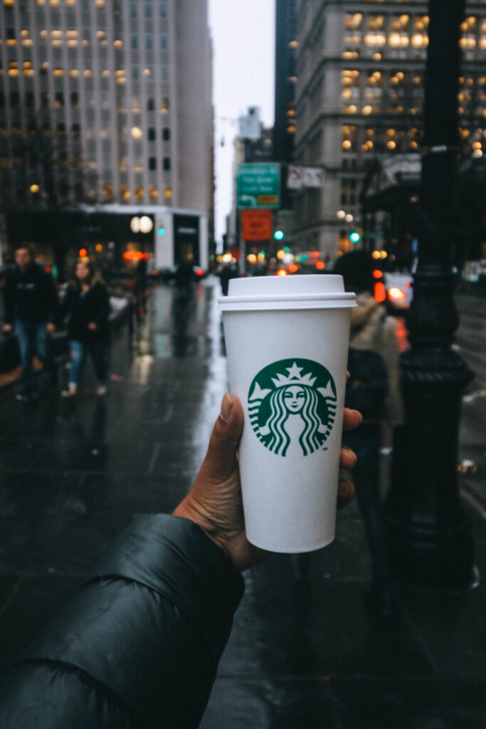 starbucks cup in nyc