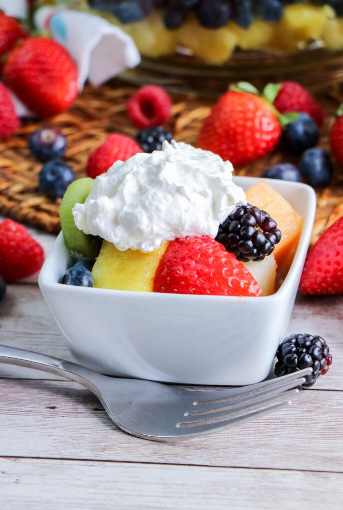 Fruit Salad Trifle
