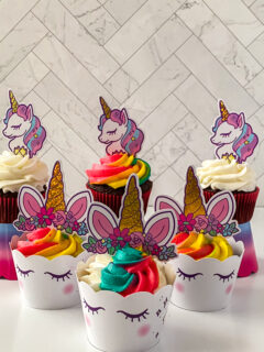 Magical Unicorn Cupcakes Recipe