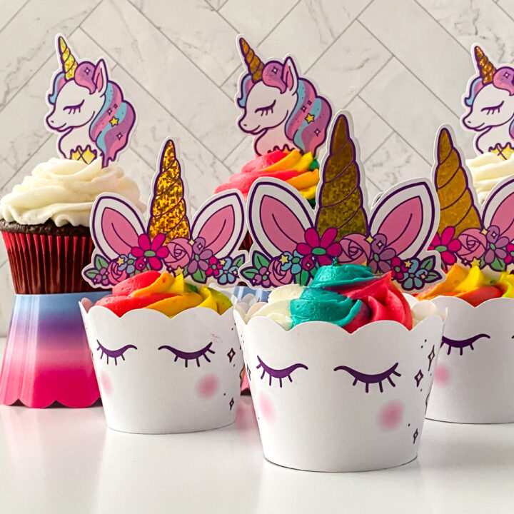 Magical Unicorn Cupcakes Recipe