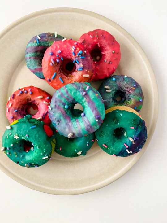 Magical Baked Unicorn Donuts Recipe