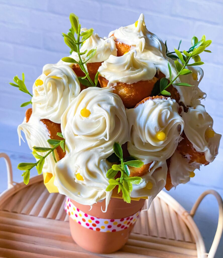 Muffin Flower Bouquet