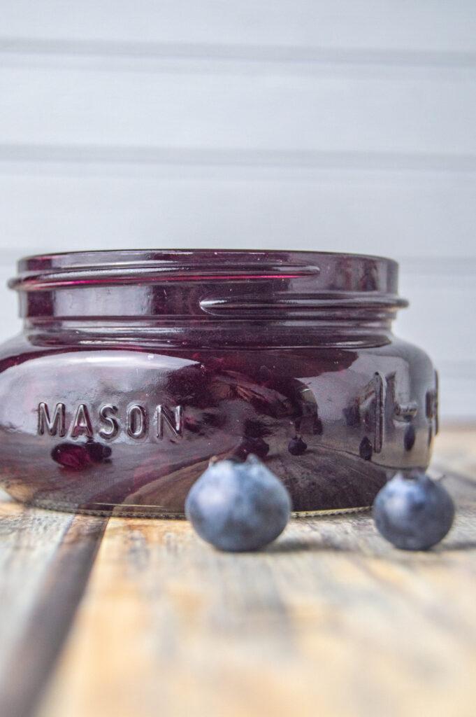 blueberry jam no pectin