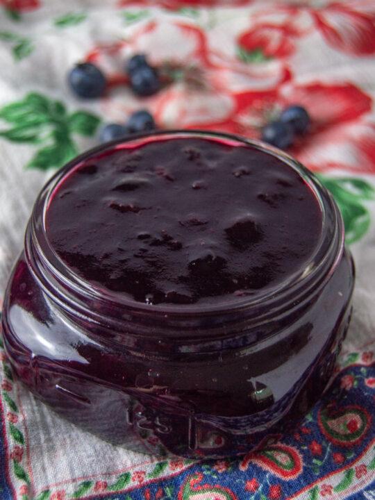 Blueberry Jam Recipe Without Pectin