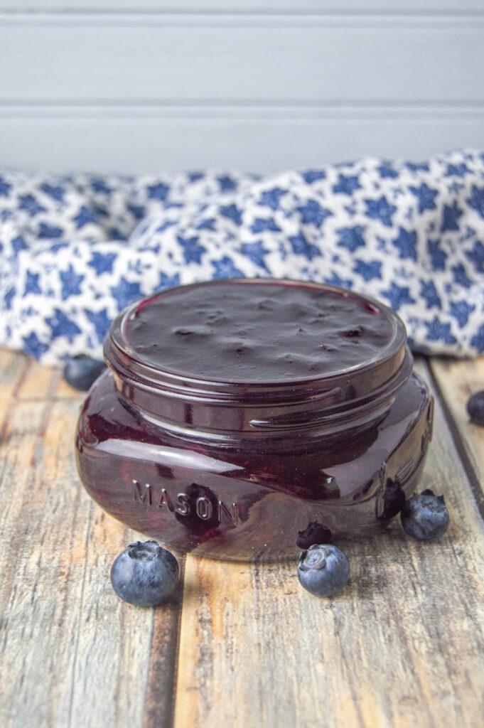 blueberry jam without pectin