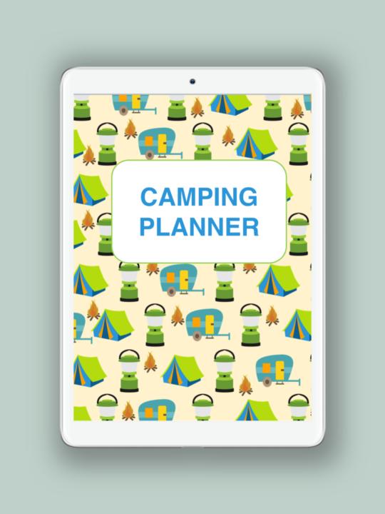 Free Camping Trip Planner Printable