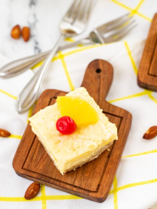Easy and Creamy Pineapple Cheesecake Recipe