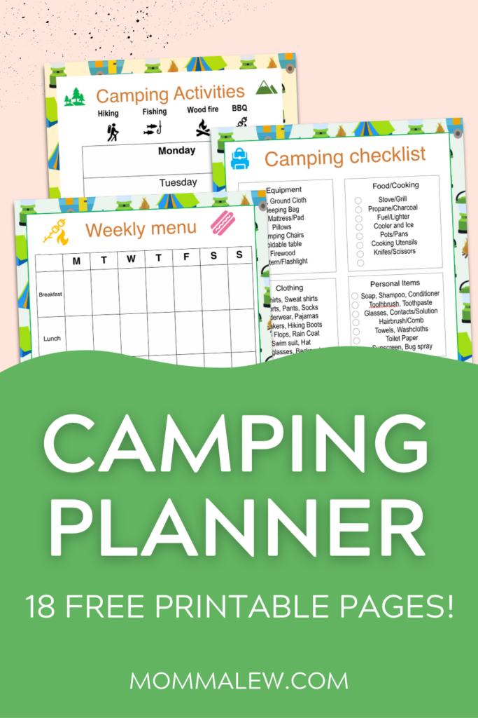 camping planner