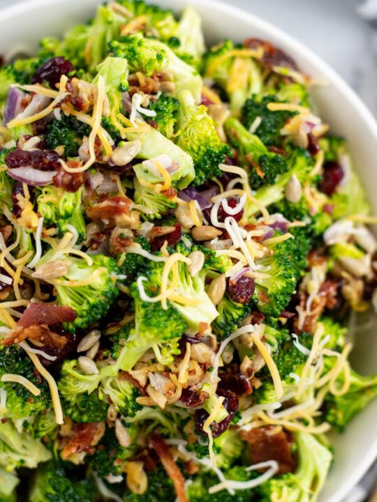 Copycat Costco Broccoli Salad Recipe