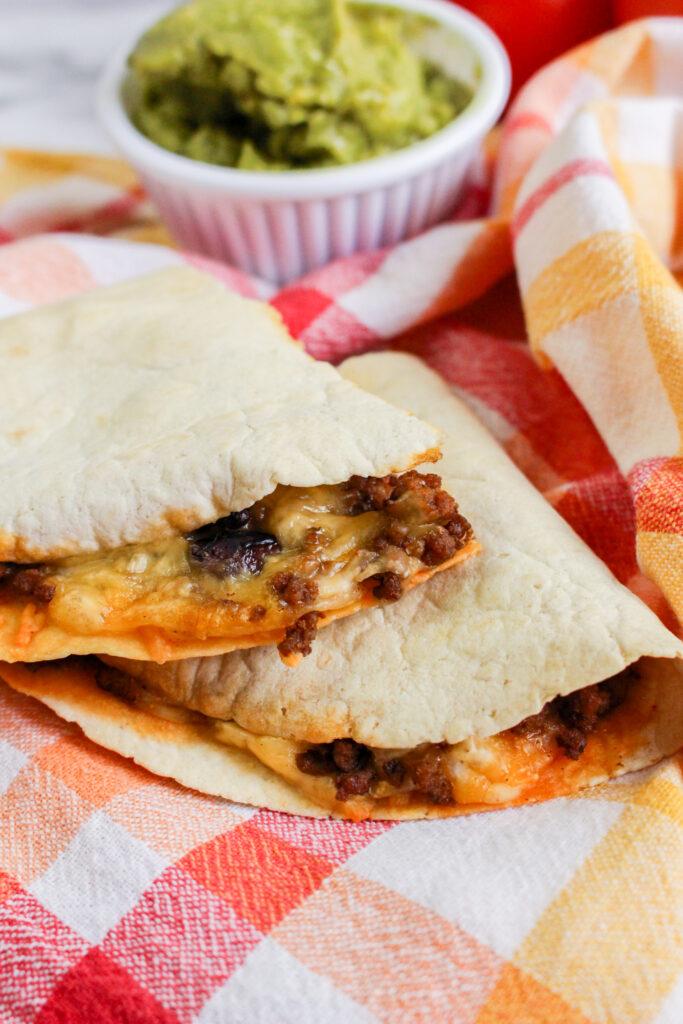 Easy Sheet Pan Quesadillas Recipe