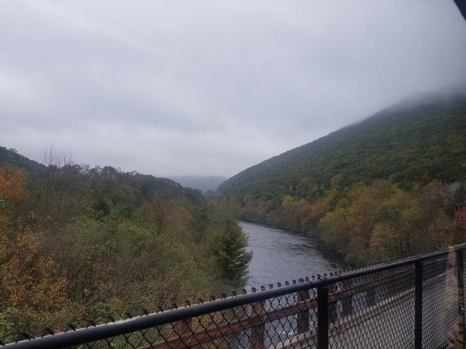 scenic railway on lehigh gorge