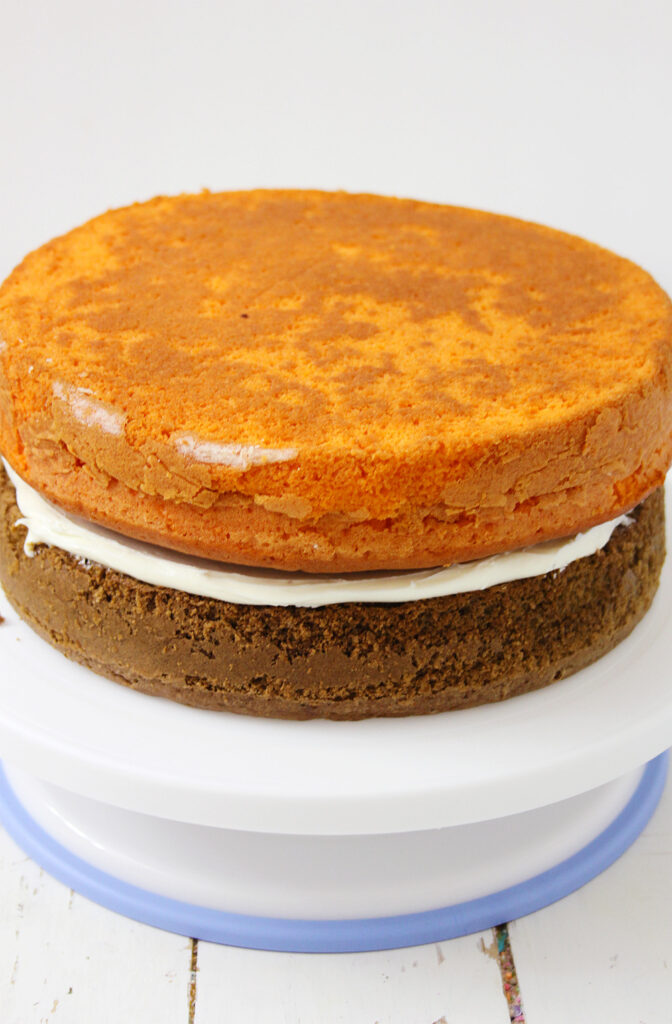 Pumpkin Spice Latte Cake with Cream Cheese Frosting Recipe