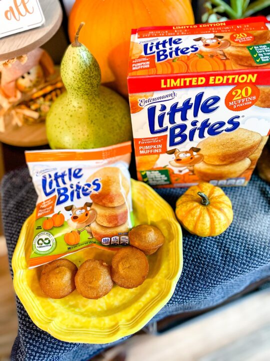 Entenmann's Little Bites® Pumpkin Muffins are Back!
