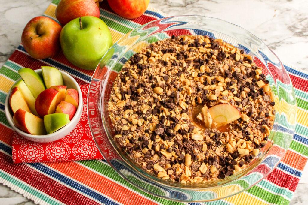Caramel Apple Cheesecake Dip