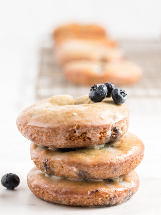 Perfect Baked Blueberry Donuts Recipe