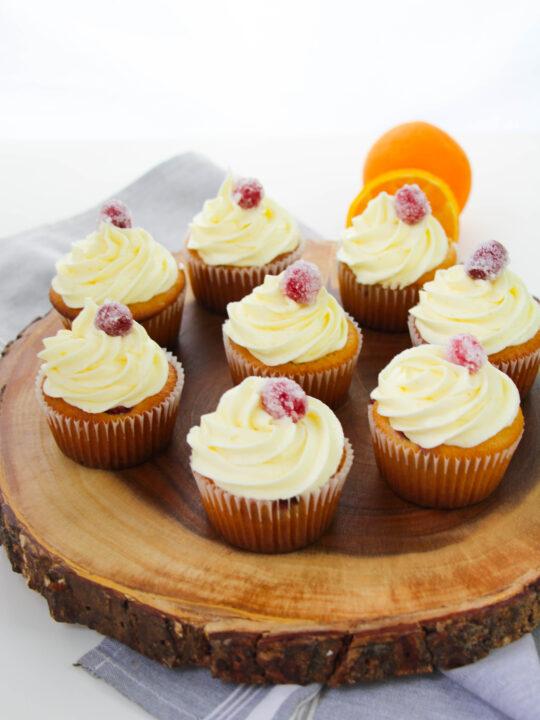 Cranberry Orange Cupcakes Recipe